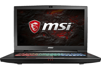 MSI GT73VR 7RE-298 Titan, Gaming Notebook mit 17.3 Zoll Display, Core™ i7 Prozessor, 16 GB RAM, 256 GB SSD, 256 GB SSD, GeForce GTX 1070, Schwarz