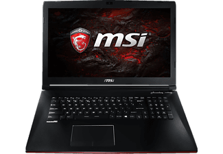 MSI GP72 7RD-047DE Leopard, Gaming-Notebook mit 17.3 Zoll Display, Core™ i7 Prozessor, 16 GB RAM, 256 GB SSD, 1 TB HDD, GeForce GTX 1050, Schwarz
