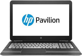 HP Pavilion (15-bc232ng), Gaming-Notebook mit 15.6 Zoll Display, Core™ i7 Prozessor, 16 GB RAM, 1 TB HDD, 256 GB SSD, GeForce GTX 1050, Silber
