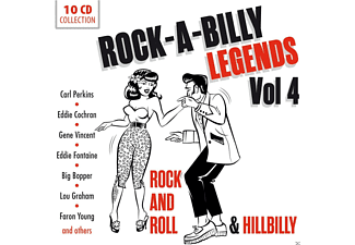VARIOUS - Rock'a'Billy Vol.4 - (CD)