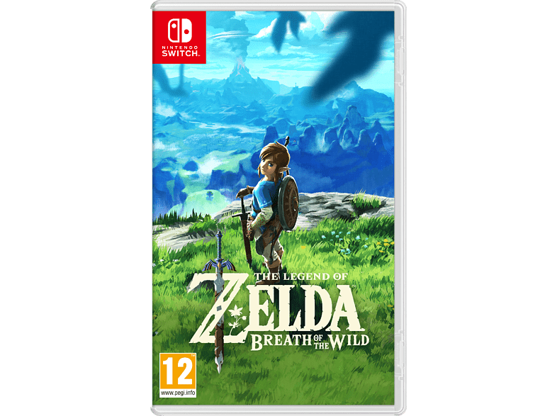 The Legend of Zelda: Breath of the Wild Switch gaming games switch games