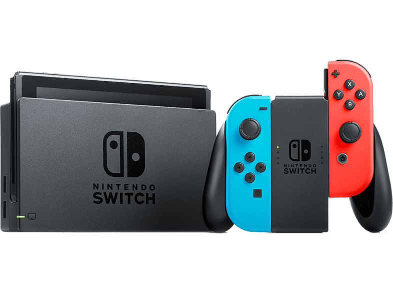 NINTENDO Switch με Red- Blue Joy-Con gaming κονσόλες κονσόλες nintendo  gaming φορητές κονσόλες