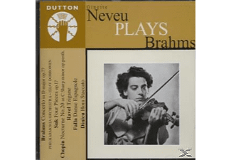 Neveu - Ginette Neveu Plays Brahms - (CD)
