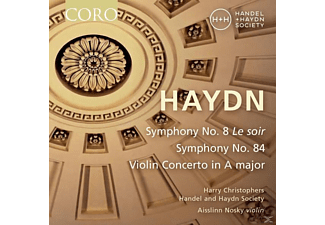 Handel And Haydn Society - Sinfonien 8 & 84/Violinkonzert in A-Dur - (CD)