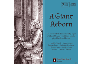 Gerard Brooks - A Giant Reborn - (CD)