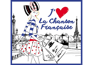 VARIOUS - I Love French Chanson - (CD)
