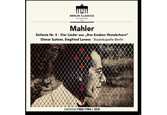 Siegfried Lorenz, Staatskapelle Berlin - Established 1947,Mahler Sinfonie 5 - (CD)