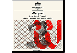 Hiroshi Wakasugi, Staatskapelle Dresden - Established 1947,Wagner-Ouvertüren - (CD)