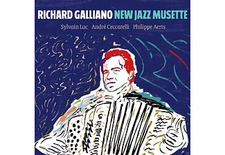 Richard Galliano - New Jazz Musette - (CD)