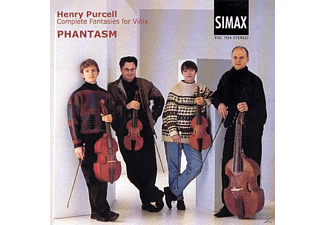 Phantasm - Purcell: Complete Fantasies For Viols - (CD)
