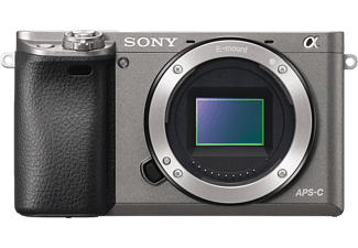 SONY Alpha A6000 Body Grijs