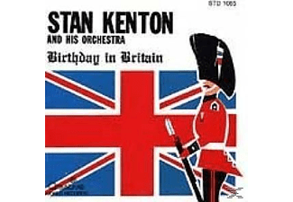 Stan Kenton - BIRTHDAY IN BRITAIN - (CD)