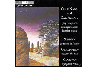 Nagai - TWO-PIANO-ARRANGEMENTS OF RUSSIAN M - (CD)