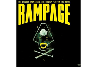 VARIOUS - RAMPAGE 2017-World Biggest D&B/Dubstep Festival - (CD)