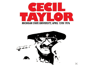 Cecil Taylor - Michigan State University,April 15th 1976 - (Vinyl)