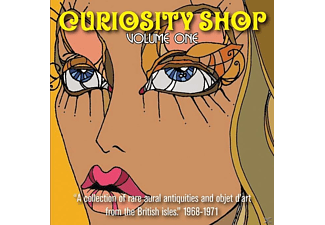 VARIOUS - Curiosity Shop Vol.1 (180 Gr.Lim..Blue Vinyl) - (Vinyl)