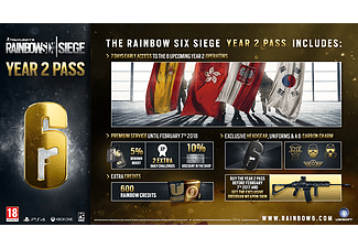 Rainbow Six: Siege - Year 2 Gold Edition PS4