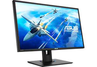 ASUS VG245HE, Monitor mit 61 cm / 24 Zoll Full-HD Display, 1 ms Reaktionszeit, Anschlüsse: 1x HDMI, 1x D-Sub