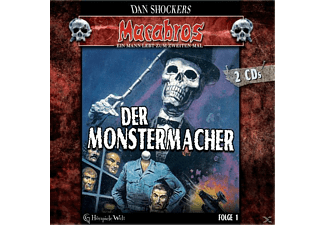 Dan Shocker - Macabros 1-Der Monstermacher - (CD)