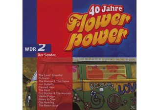 VARIOUS - WDR2 40 Jahre Flower Power - (CD)
