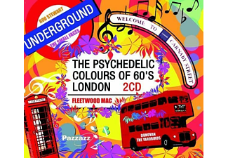 VARIOUS - PSYCHEDELIC COLOURS OF 60S LONDON - (CD)