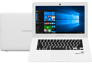 "NAVON Stark NX14 fehér notebook (14,1""/Atom/2GB/32GB eMMC/Windows 10)"