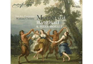 Les Arts Florissants - Madrigali & Selva Morale - (CD)