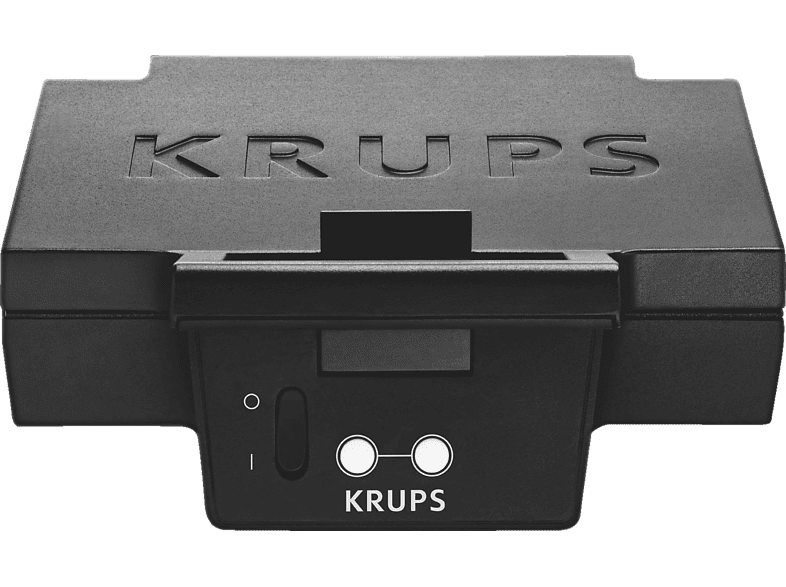 krups fdk 451 sandwich toaster 850 watt toastplatten 25 x 12 cm schwarz. Black Bedroom Furniture Sets. Home Design Ideas