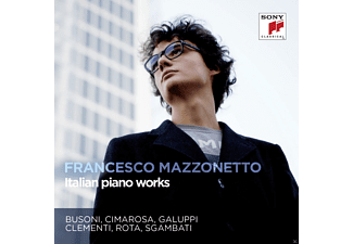 Francesco Mazzonetto - Italian Piano Works - (CD)