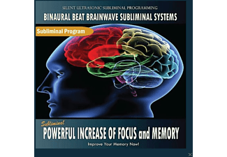 Binaural Beat Brainwave Subliminal Systems - Subliminal Powerful Increase of Focus and Memory - (CD)