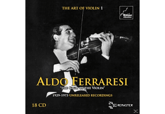 Aldo Ferraresi - The Art Of Violin 1 - (CD)