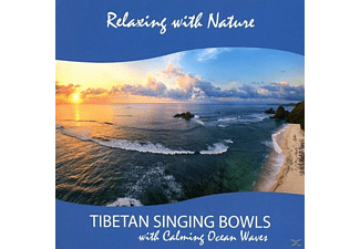 Sounds Of Nature (dharma Production) - Tibetan Singing Bowls with Calming Ocean Waves - (CD)