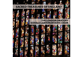 London Oratory Schola Can - Sacred Treasures of England - (CD)