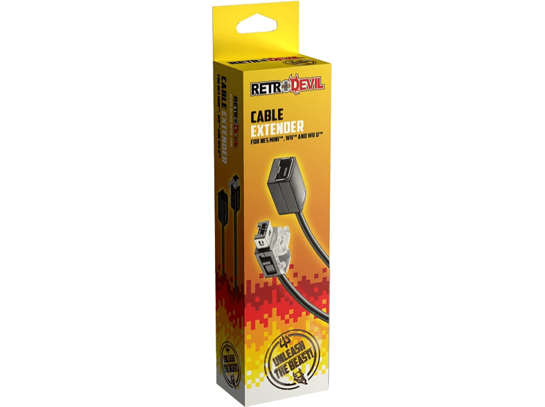 REE GROUP Extension Cable for Wii, Wii U gaming απογείωσε την gaming εμπειρία αξεσουάρ wii u