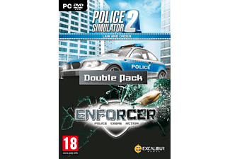 Law and Order Double Pack / Enforcer, Police Sim 2 PC