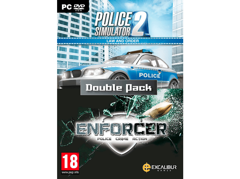 Law and Order Double Pack / Enforcer, Police Sim 2 PC gaming games pc games