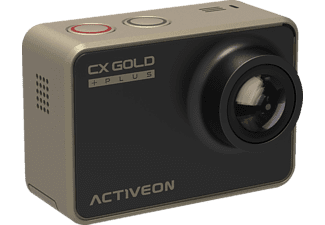ACTIVEON GCB10W CX GOLD PLUS Action Cam, WLAN, Gold