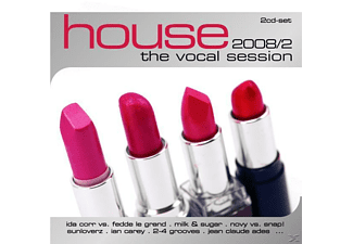 VARIOUS - House: The Vocal Session 2008-2 - (CD)