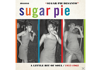 Desanto Sugar Pie - A LITTLE BIT OF SOUL - (CD)