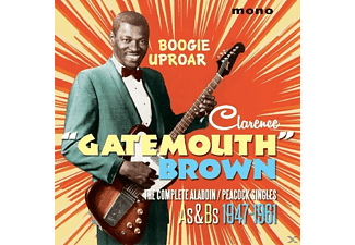 Clarence Gatemouth Brown - BOOGIE UPROAR - (CD)