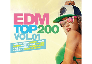 VARIOUS - Edm Top 200 Vol.1 - (CD)