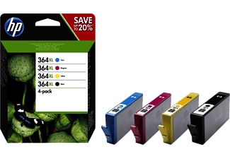 HP 364 XL CRTR Combo Pack - (HPN9J74A)