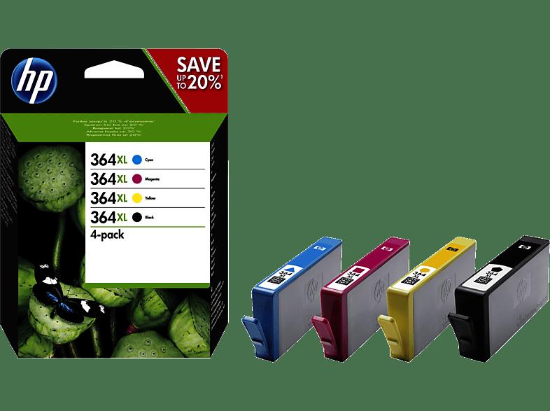 HEWLETT PACKARD 364 XL CRTR Combo Pack - (HPN9J74A) laptop  tablet  computing  εκτύπωση   μελάνια μελάνια  toner computing   tablets