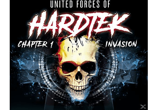 VARIOUS - UNITED FORCES OF HARDTEK 01 - INVASION - (CD)