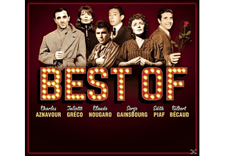 Aznavour/Greco/Gainsbourg/Piaf/Becaud/+ - BEST OF - (CD)