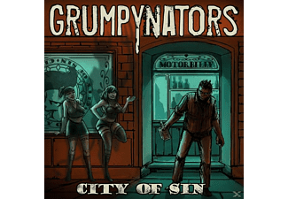 Grumpynators - City Of Sin - (Vinyl)