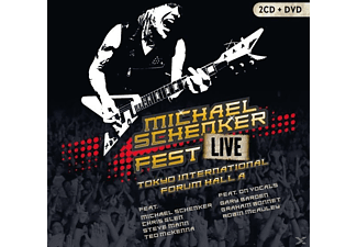 Michael Schenker - Fest-Live Tokyo International Forum Hall A - (CD + DVD Video)