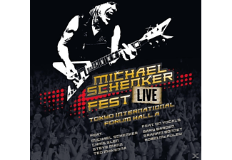 Michael Schenker - Fest-Live Tokyo International Forum Hall A - (CD)