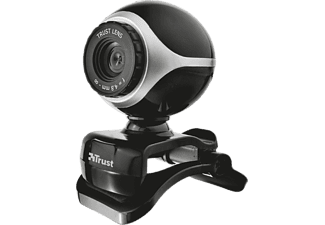 TRUST Exis Webcam  Black/Silver