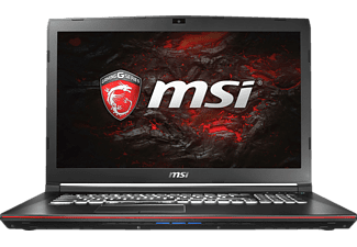 MSI GP72VR 7RF-268DE, Gaming-Notebook mit 17.3 Zoll Display, Core™ i7 Prozessor, 16 GB RAM, 256 GB SSD, 1 TB HDD, GeForce GTX 1060, Schwarz